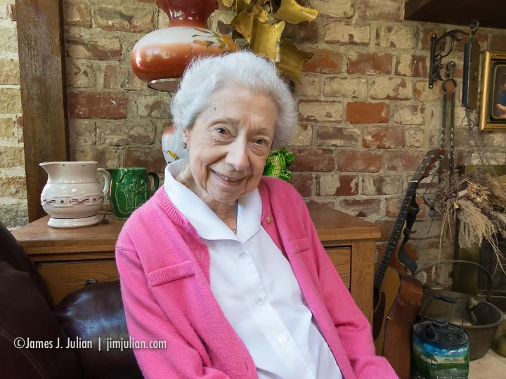 Grandma Lee 90 Years Old Sitting