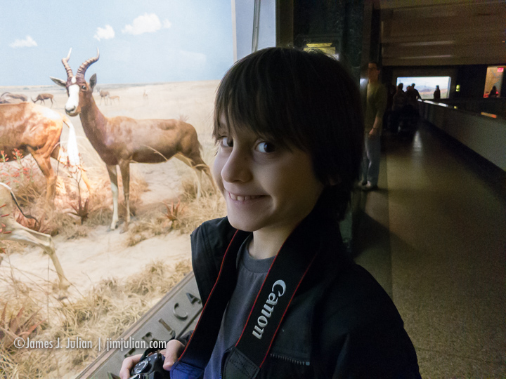 Rocco at the Museum 1