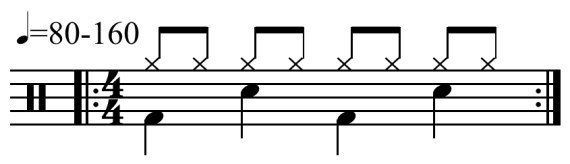 Rock Drum Pattern