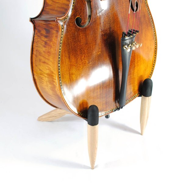 Frederick Wooden Cello Stand - Natural