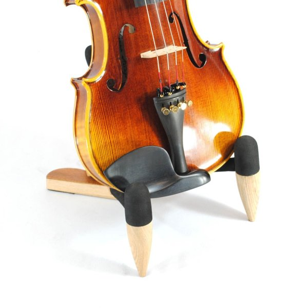 Frederick Wooden Violin Stand - Natural Stands