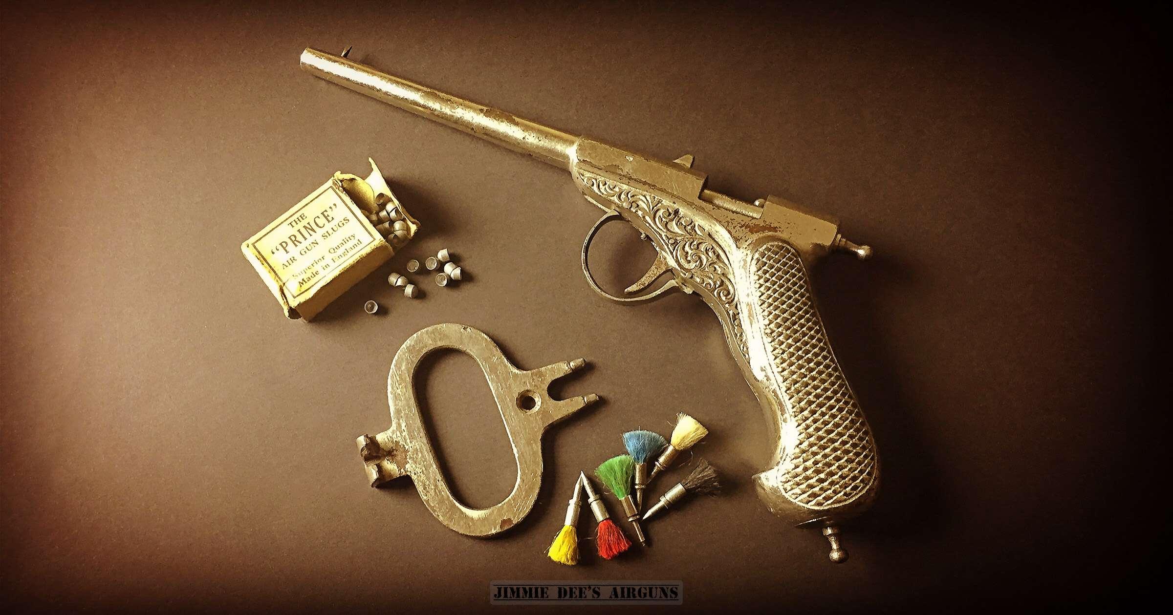 Michael Flürscheim's MF air pistol