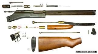 Stripped Apache air rifle.