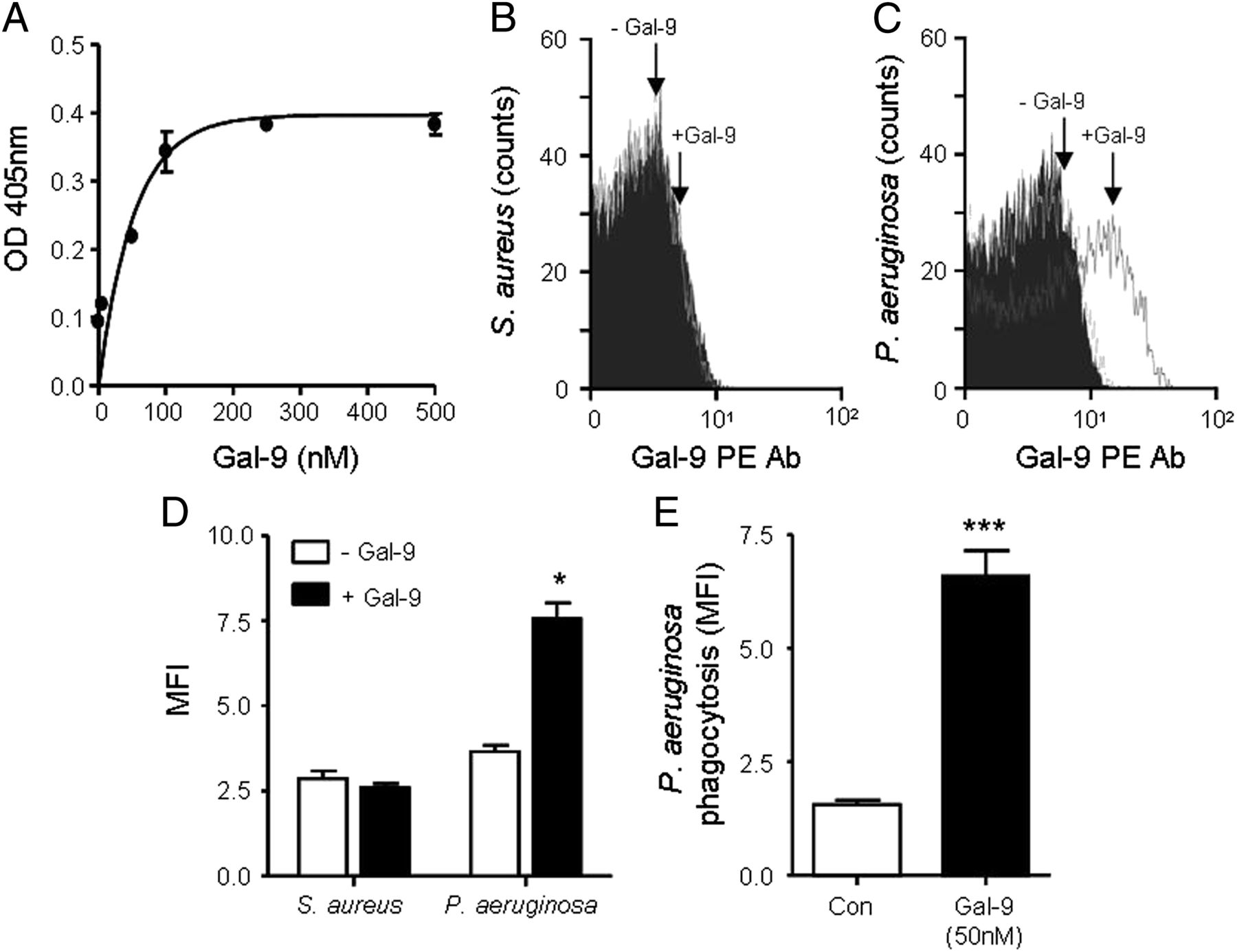 Galectin-9 Signaling through TIM-3 Is Involved in