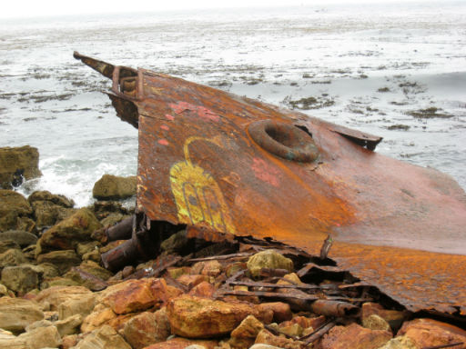 SS Dominator Shipwreck