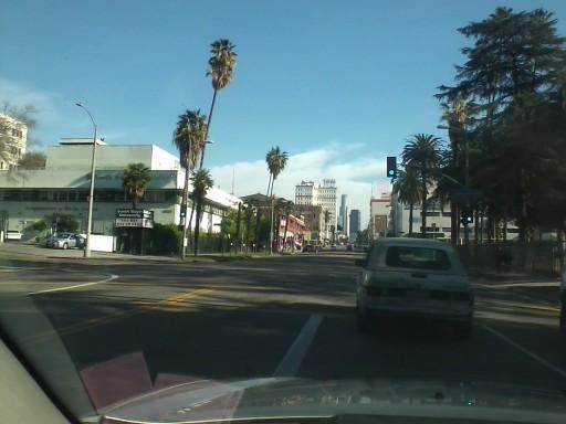 6th Street Towards Downtown LA