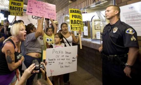 Anaheim Protests