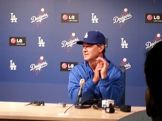 Don Mattingly Presser
