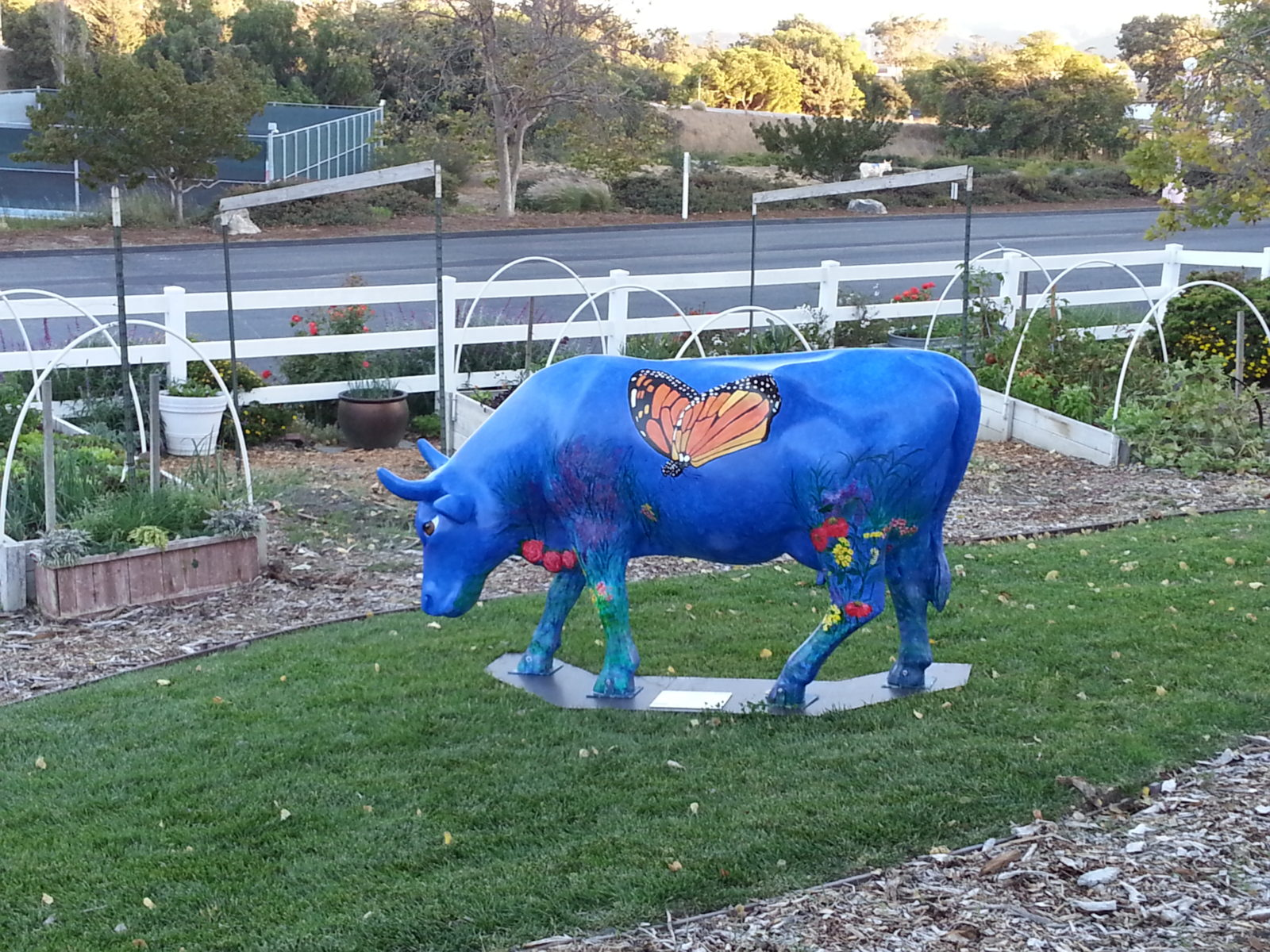 Blue Cow at Madonna Inn