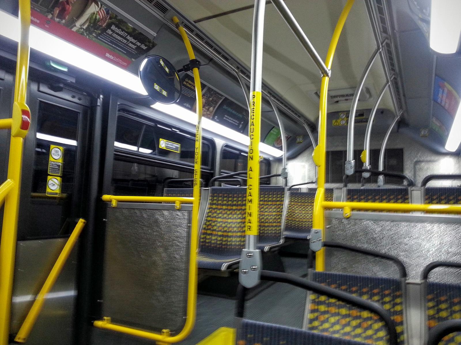 Empty Rapid Bus