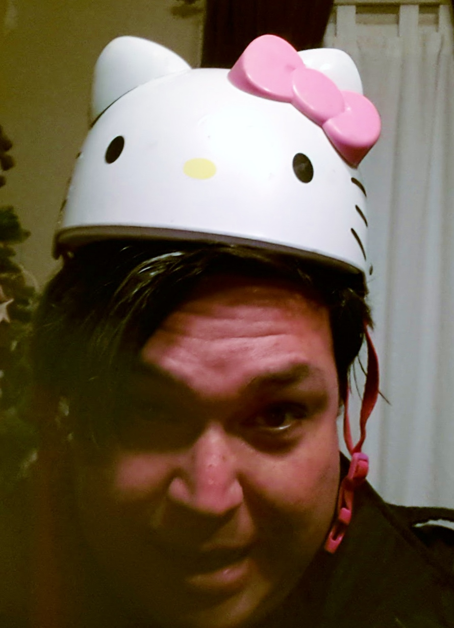 Hello Kitty Helmet