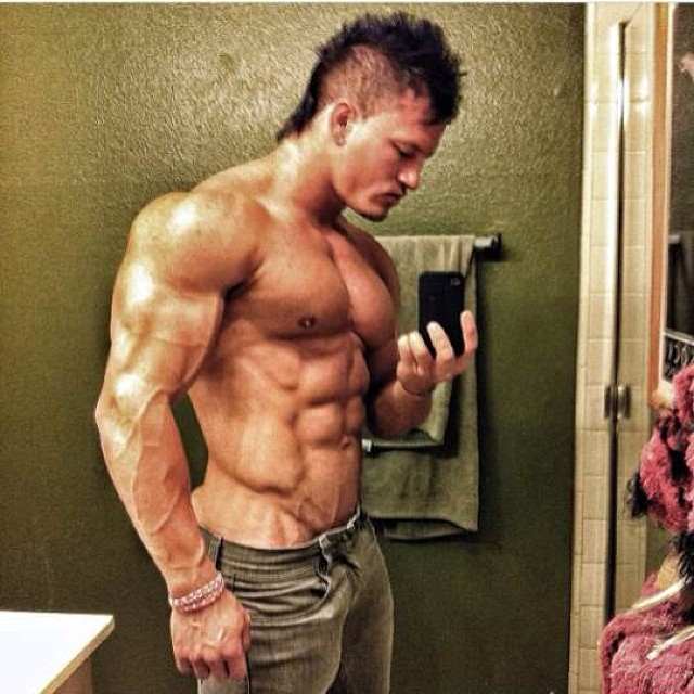 Muscly Asian Boy