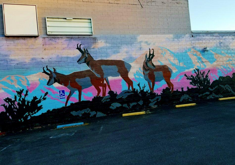A Pastoral Mural in Alturas