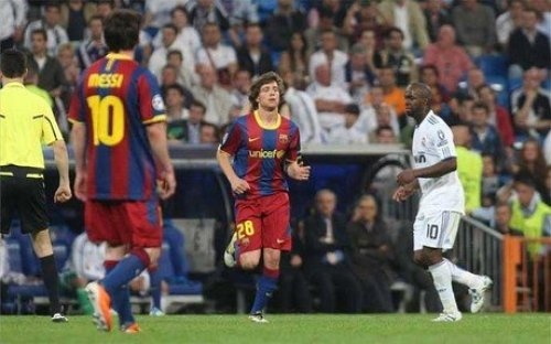 Sergi Roberto mod Real Madrid