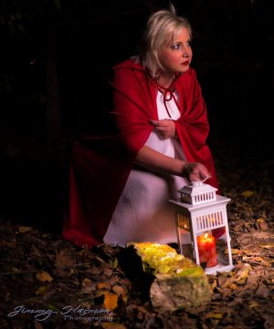 Model Photography - Little Red Riding Hood