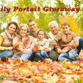 Family Portrait Giveaway 2016