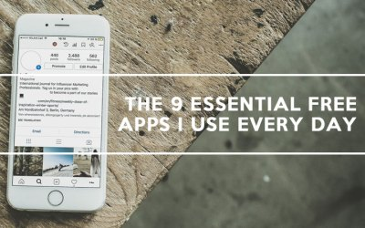 The 9 Essential Free Apps I Use Everyday