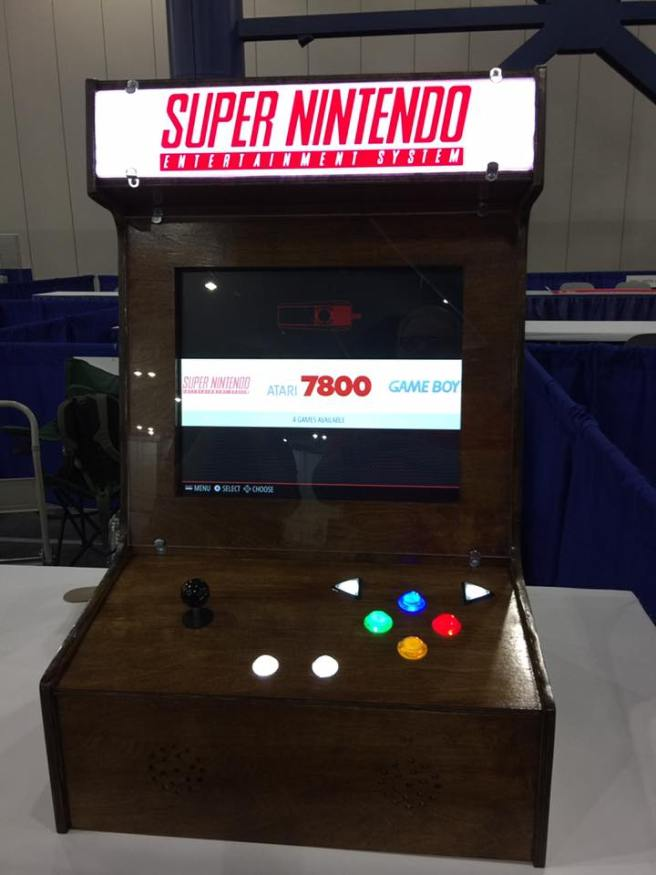 Brandon's AWESOME Raspberry Pi Game Cabinet