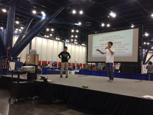 Jonathan talks about Houston Aerospace Scholars