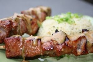 Grilled Pork Kabobs with Holy Smoke!