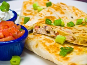 Holy Smoke! Chicken Quesadillas