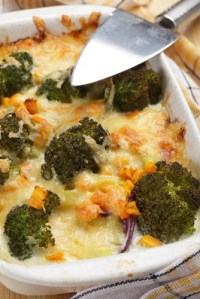 chicken broccoli bake shutterstock_55865128