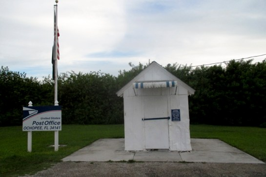 The smallest Post Office in the United States.