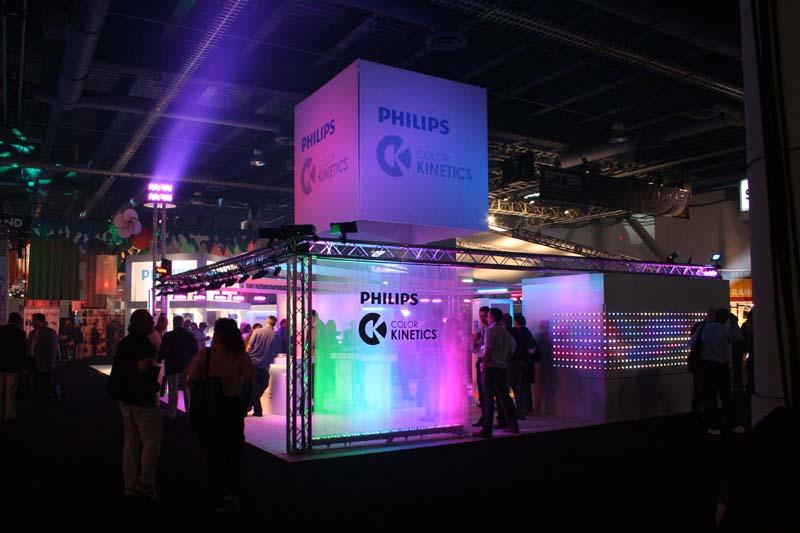 Creative Commons License & LDI - Philips/Color Kinetics Booth | Jim On Light azcodes.com
