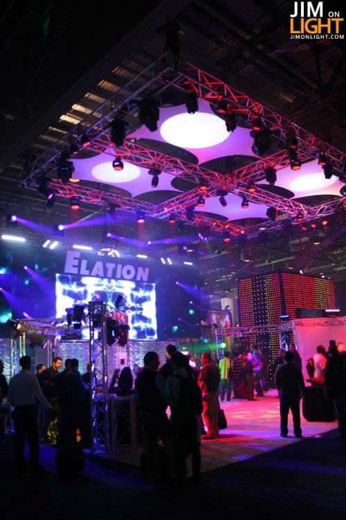 elation-ldi2009-jimonlight-3 & LDI 2009: Elation Lightingu0027s Booth | Jim On Light azcodes.com