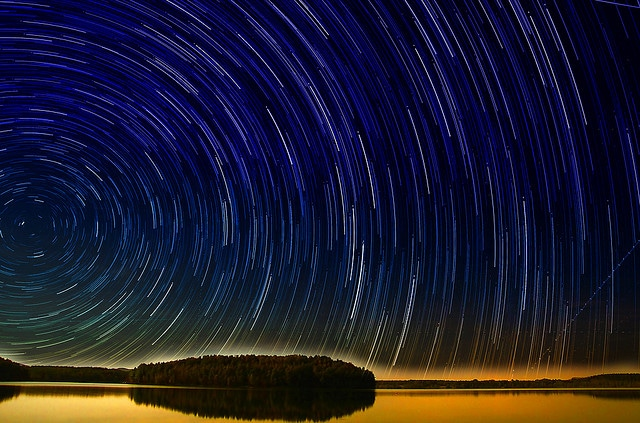 Glorious Morning Startrail