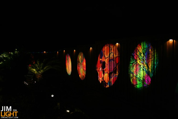 InLight Gobos on the walls