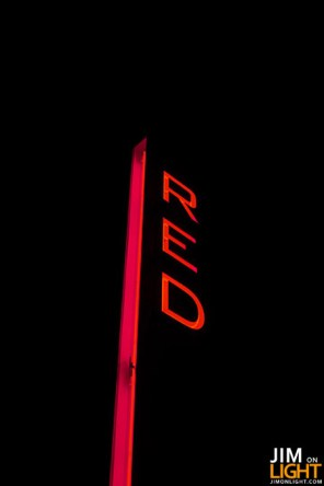 RED Entrance Sign
