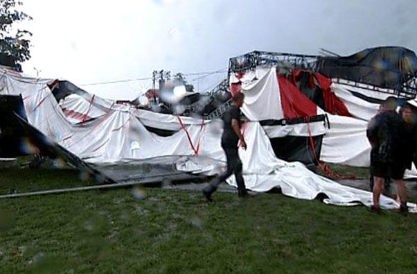 Pukkelpop: PukkelPop Festival Roof Collapse, 3 Dead, 70+ Hurt