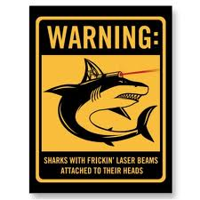Frickin' sharks with Frickin' laser beams on their heads