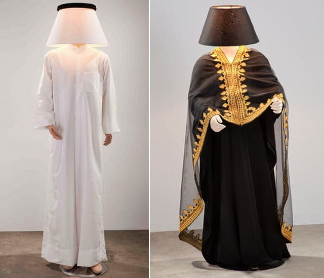 Mannequin Lamp the daily lamp - full-size human lamps from al hamad design | jim