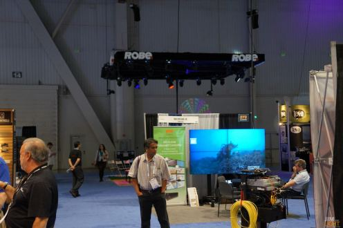 Robe's booth at InfoComm 2014