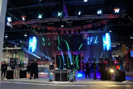 Elation Professional/American DJ, InfoComm 2014