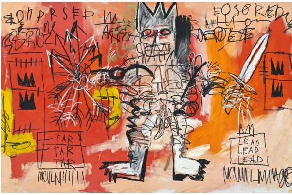 """Untitled"" by Jean Michel Basquiat"