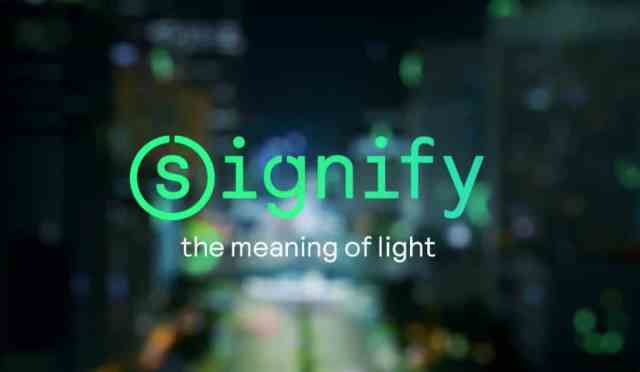 Philips Lighting rebrands itself Signify