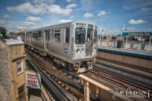 September 2 2018 Chicago Transit Authority Blue Line