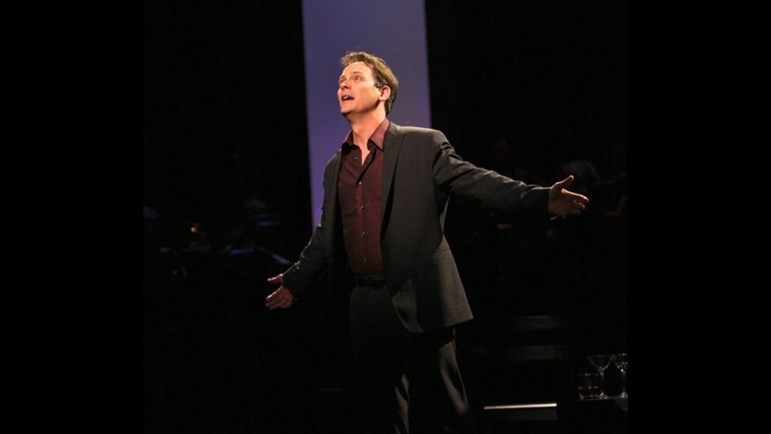 Jim Poulos as Bobby - Company at Geva Theatre Center, 2012: Director: Mark Cuddy, Scenic Design: G.W. Mercier, Costume Design: Pamela Scofield, Lighting Design: Joel Moritz, Photos: Ken Huth