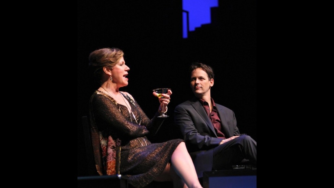 Anne Allgood, Jim Poulos - Company at Geva Theatre Center, 2012: Director: Mark Cuddy, Scenic Design: G.W. Mercier, Costume Design: Pamela Scofield, Lighting Design: Joel Moritz, Photos: Ken Huth