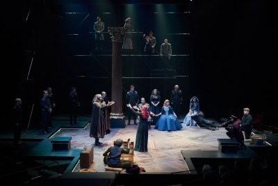 Hamlet by William Shakespeare presented by Repertory Theater of St. Louis on Oct 10, 2017. Photo: Peter Wochniak