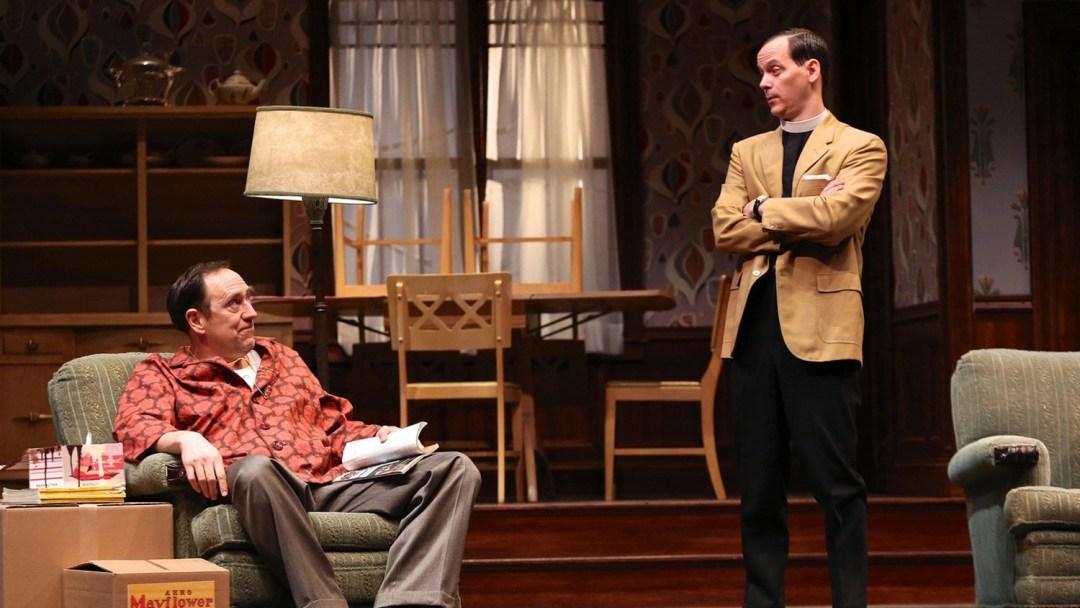 Skip Greer, Jim Poulos in Clybourne Park at Geva Theatre Center