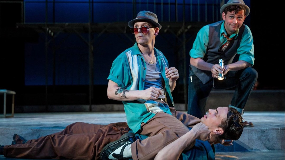Jim Poulos, Benjamin Boucvalt, Brian White - Romeo and Juliet at Great River Shakespeare Festival