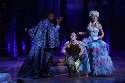 Alvin Keith, Rebecca Watson, Jim Poulos - A Midsummer Night's Dream at Repertory Theatre of St. Louis 2014: Director: Paul Barnes, Set Design: James Kronzer, Costume Design: Susan Branch Towne, Lighting Design: Lonnie Rafael Alcaraz, Choreographer: Matt Williams, All Photos: ©Photo by Jerry Naunheim Jr.