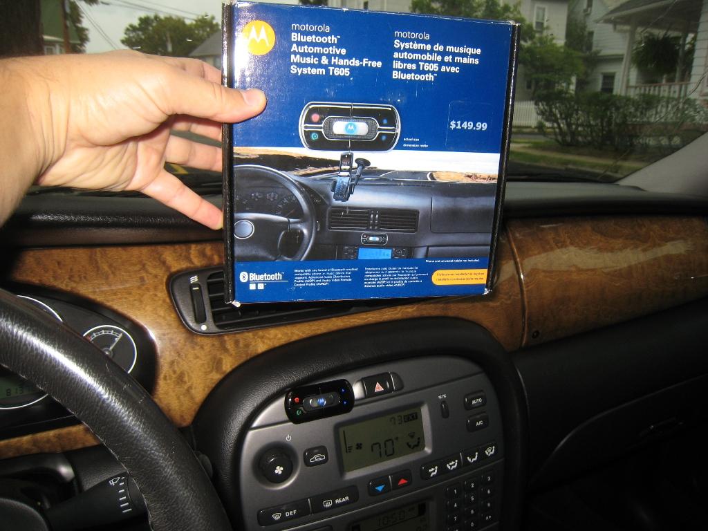 adding a motorola t605 bluetooth adapter