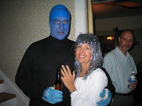 blue man group halloween costume hallowen costum udaf