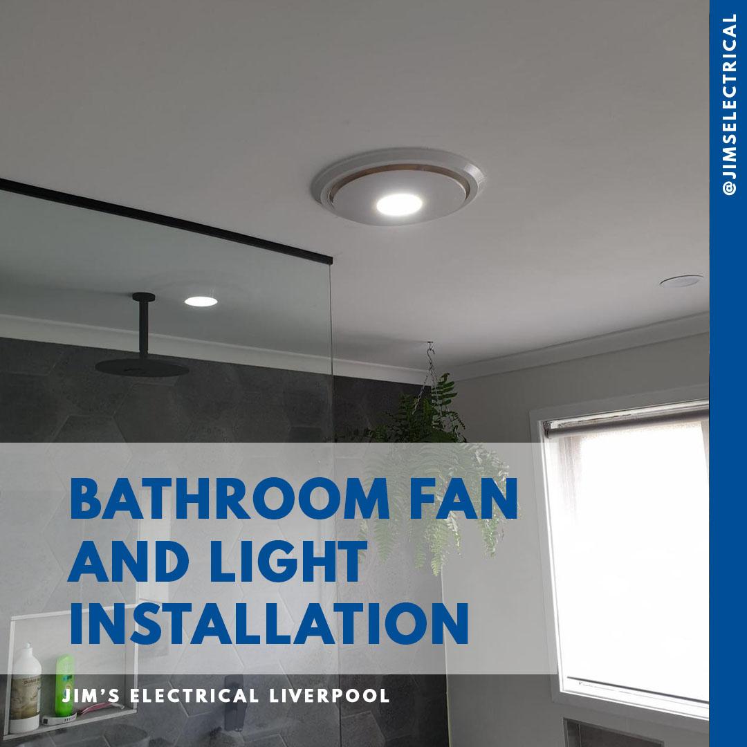 exhaust fan installation jim s electrical