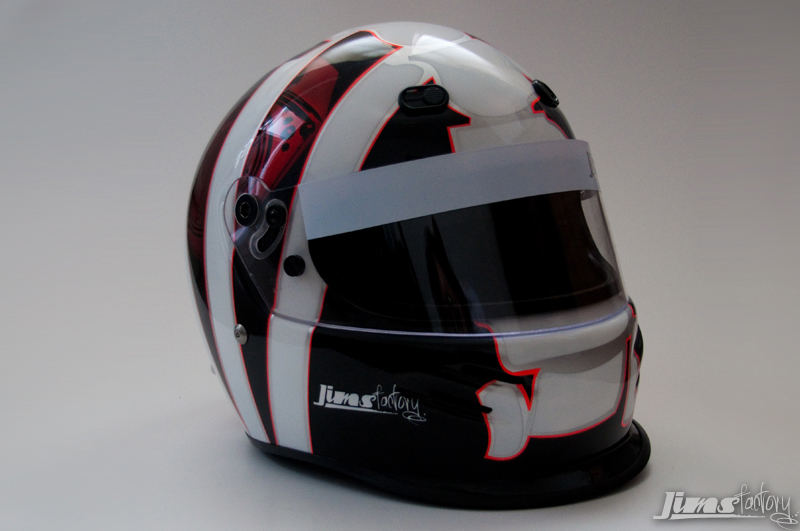 Matts Bell Helmet painted by Jims Factory